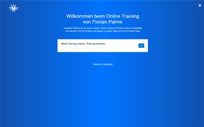 Online Training - Florian Palme